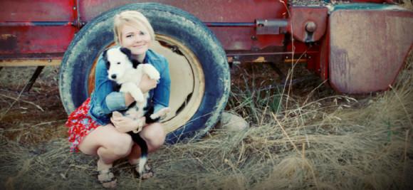 kady with dog 870